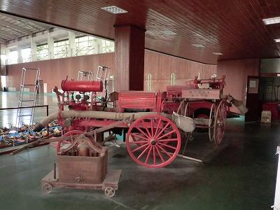 レトロ消防車
