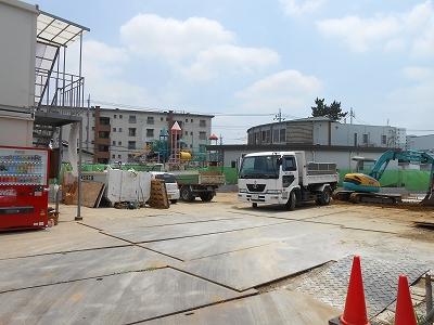 建設中 医師会館