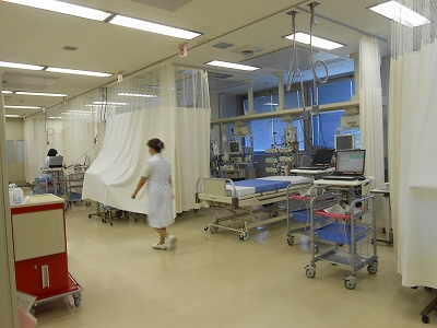 ICU治療室