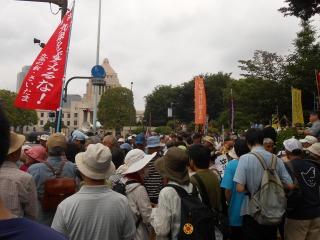 沖縄抗議集会1