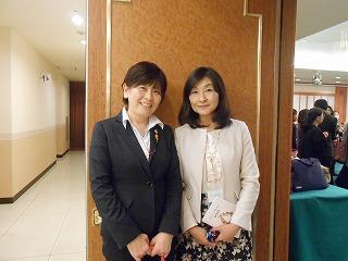 田中紀子さんと