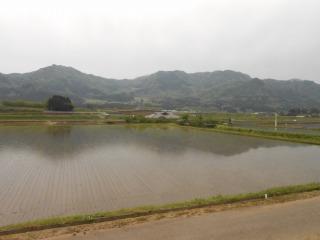 阿蘇の外輪山