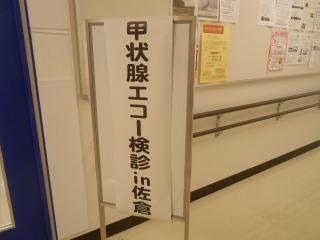 甲状腺エコー検診