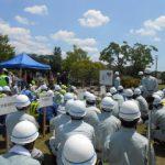 高崎川での水防訓練