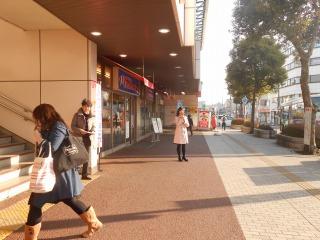 臼井駅にて