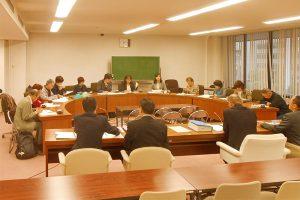 原発避難者支援の県交渉