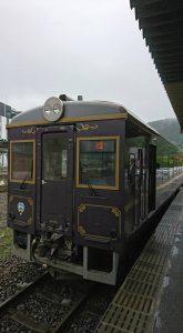 釜石駅から三陸鉄道に乗車