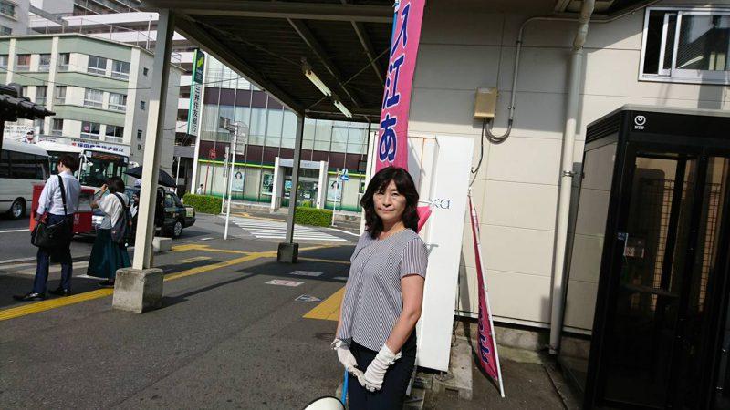 京成佐倉駅頭