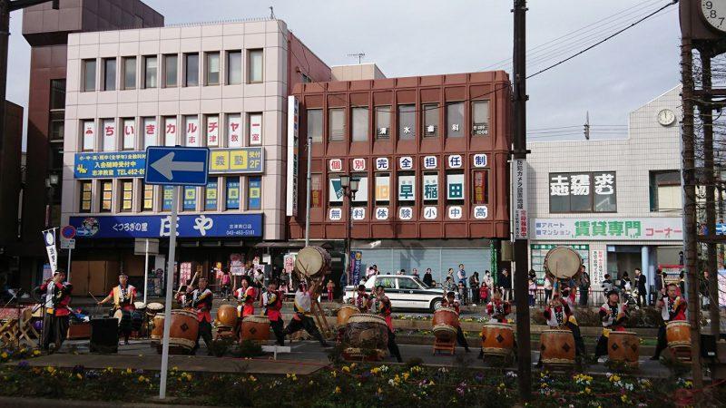 志津商店街餅つき大会