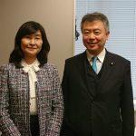 桜井充参議院議員と面談・国家戦略特区による医学部新設問題を意見交換