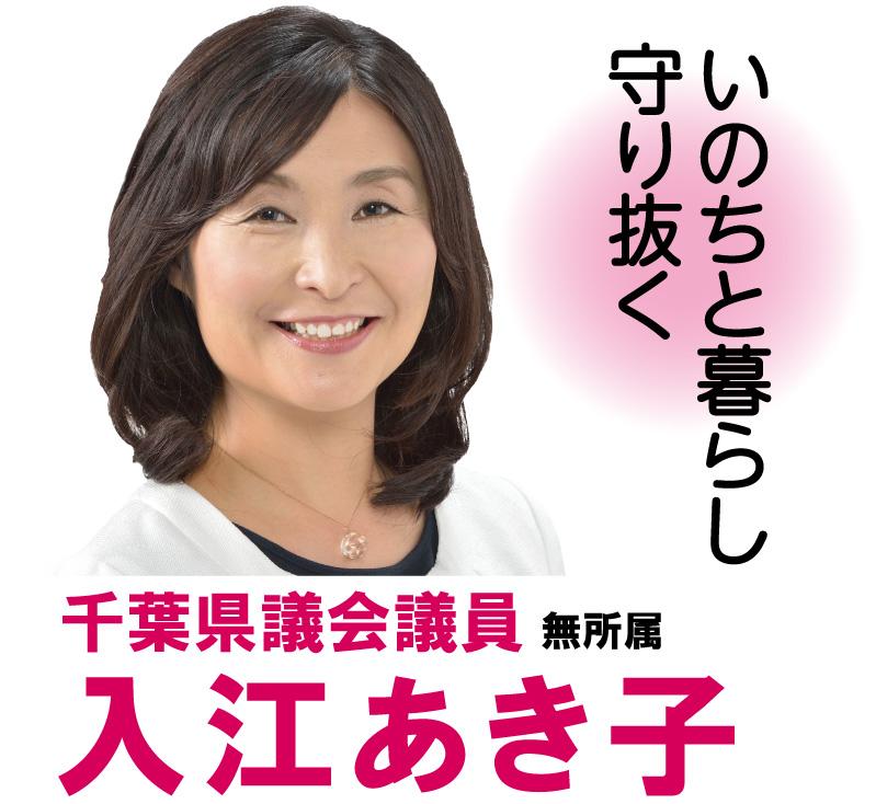 千葉県議会議員 無所属 入江あき子