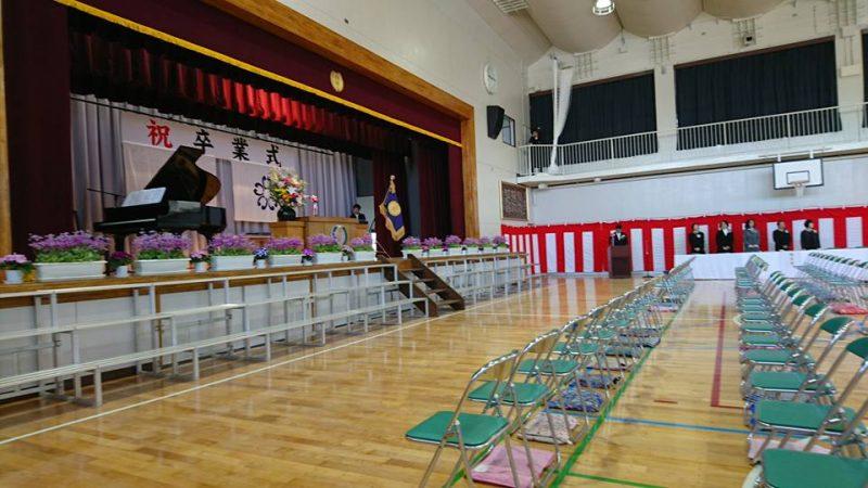 間野台小学校卒業式・南部福祉センターうたごえ喫茶