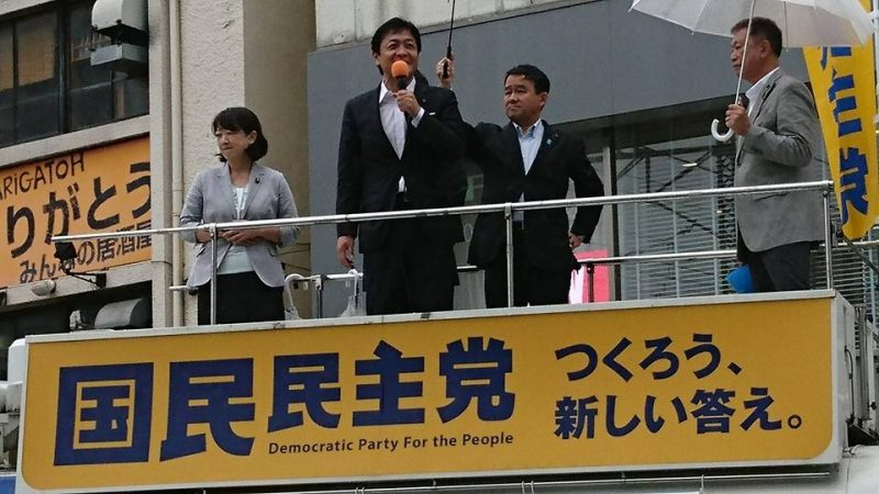 国民民主党 玉木雄一郎代表 in 千葉