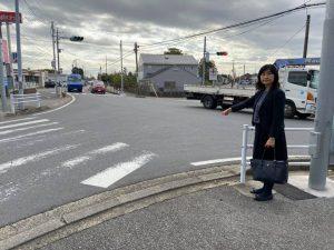 道路の現地調査