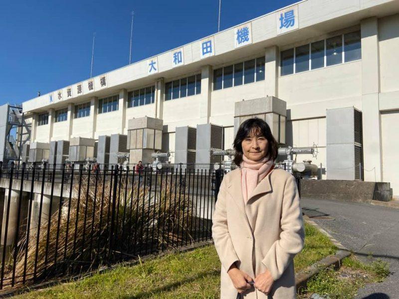 印旛沼開発50周年記念感謝祭・大和田機場見学