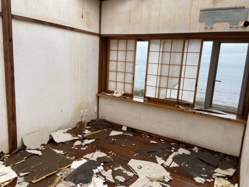 台風大雨被害・復旧状況の会派視察 館山市南房総方面へ