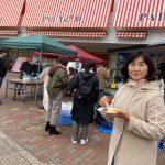 志津南口商店会もちつき大会・高校生の食を守る会ミーティング