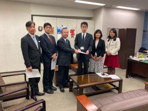 災害ボランティア活動の継続支援に向けて、千葉県に要請