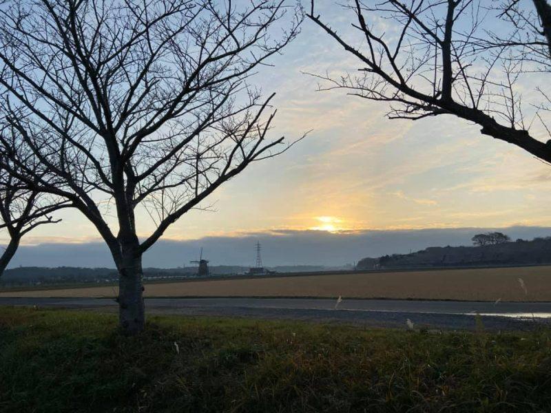 印旛沼風景