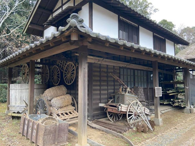 佐倉くさぶえの丘近くにある旧増田家住宅