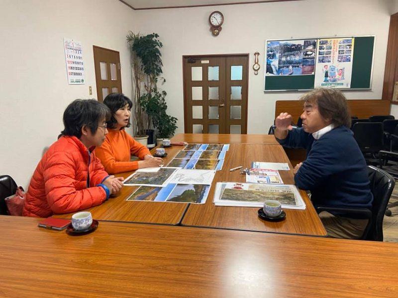 鹿島川改良区訪問