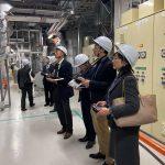資源エネルギー問題懇話会視察・大丸有地区スマートシティ・東京電力本社へ