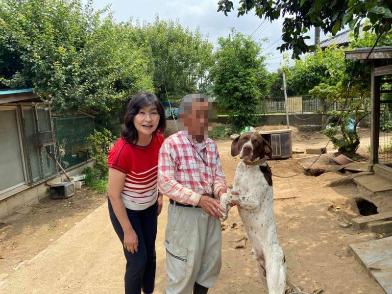 高木市議と市内馬渡にある農家を久しぶりに訪問