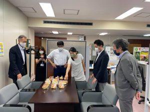 館山中村屋のパン
