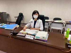 健康福祉常任委員会・コロナ関連補正予算の審議