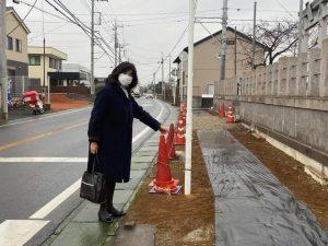 県道宗吾酒々井線現地調査