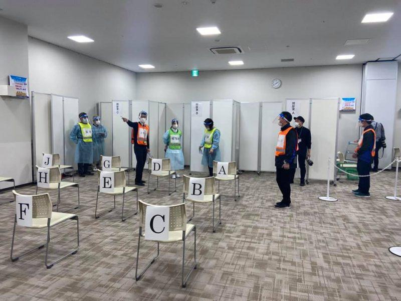 佐倉市コロナワクチン集団接種デモ見学