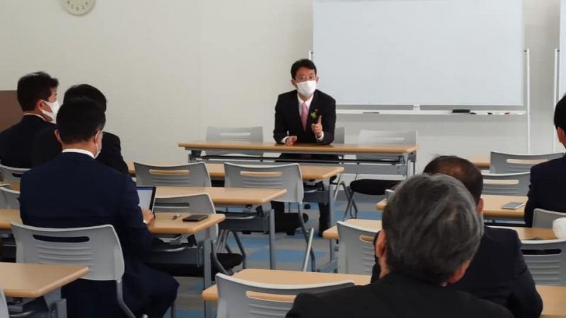 くまがい俊人さんと県議団「立憲民主・千葉民主の会」意見交換会
