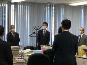 熊谷知事挨拶、議案説明