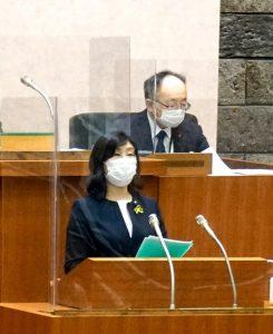 熊谷知事初議会で賛成討論