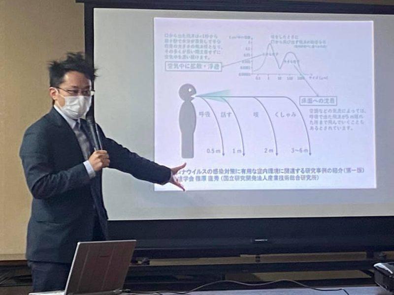千葉大武藤剛医師コロナ感染対策勉強会