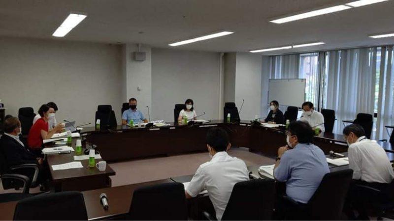 会派代表質問勉強会・総合計画検討会