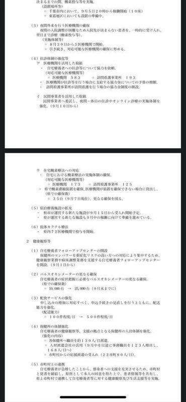 緊急事態宣言延長/千葉県の対応