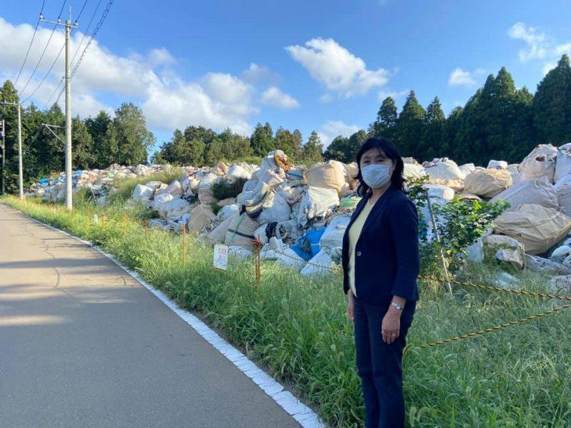 上別所違法廃棄物ゴミ山問題