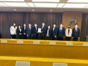 熊谷知事と予算制度要望書を手交・意見交換/新・総合計画策定要望書提出